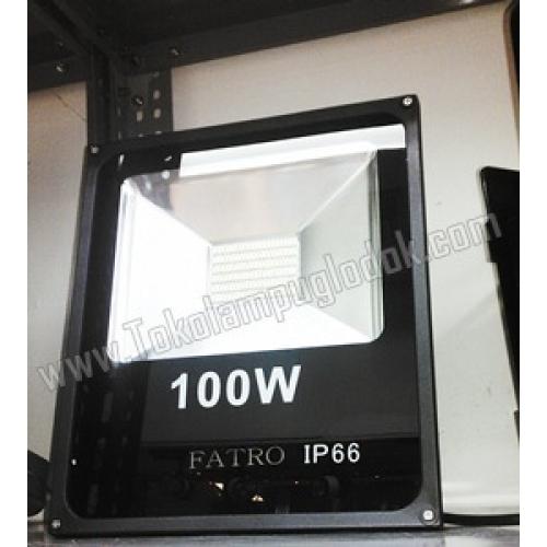 Lampu Sorot LED 100 Watt 220 Volt FATRO